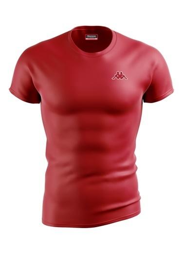Kappa Poly.T-Shirt Baltel  Kırmızı
